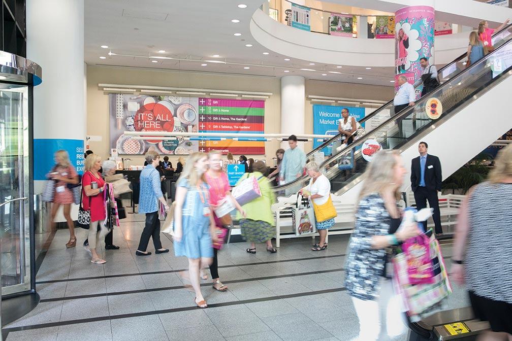 AmericasMart Busy Lobby